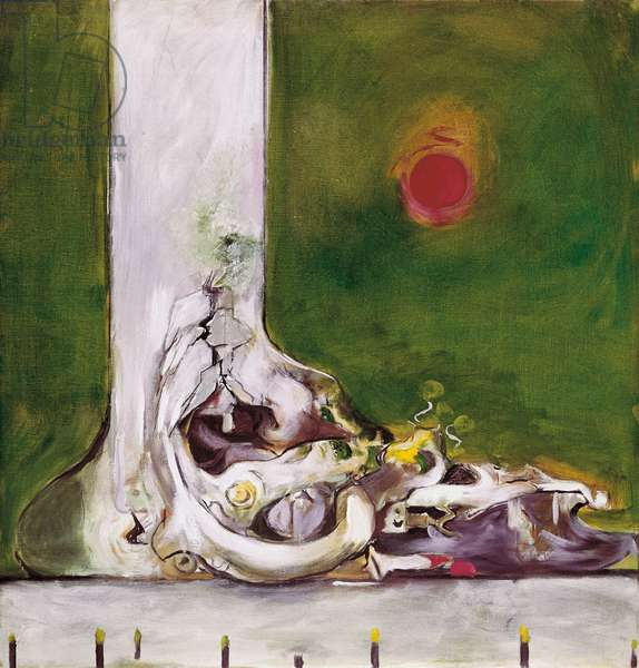 Foot, by Graham Sutherland, 1972, 20th Century, oil on canvas