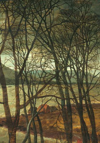 The Gloomy Day (Early Spring), by Pieter Bruegel the Elder, 1565, 16th Century, oil on wood, 118 x 163 cm