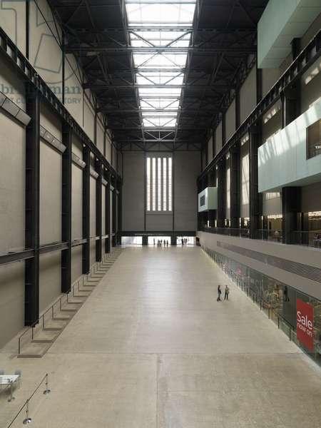 Tate Modern, 1995 - 2000 (brick and glass)