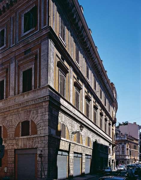 Alberini Palace in Roma (Palazzo Alberini a Roma), by Raphael and Giulio Pippi known as Giulio Romano, 1514 - 1522, 16th Century