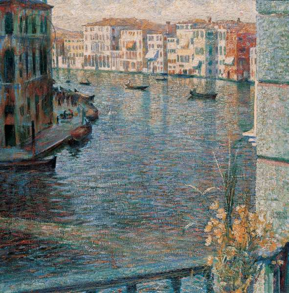 The Grand Canal in Venice, 1907 (oil on canvas)