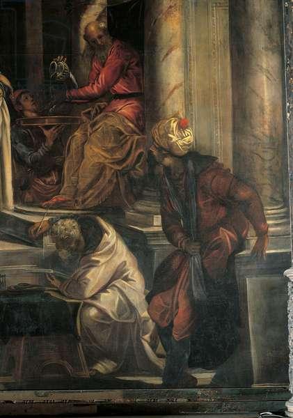 Christ before Pilate (Cristo davanti a Pilato), by Jacopo Robusti known as Tintoretto, 1566 - 1567, 16th Century, oil on canvas, 515 x 380 cm