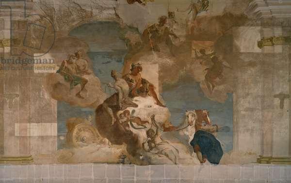 Phaethn Asks for Apollo's Cart, 1719 - 1720 (fresco)