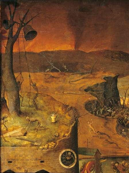 The Triumph of Death, by Pieter Bruegel the Elder, 1562, 16th Century, oil on wood, 117 x 162 cm