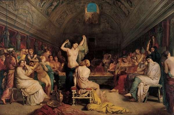 The Tepidarium, 1853 (oil on canvas)