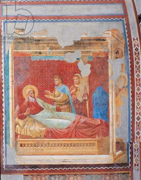 Isaac rejects Esau, c.1288 (fresco)