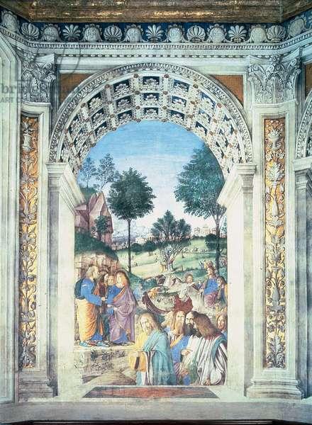 Palm Sunday, 1480 (fresco)