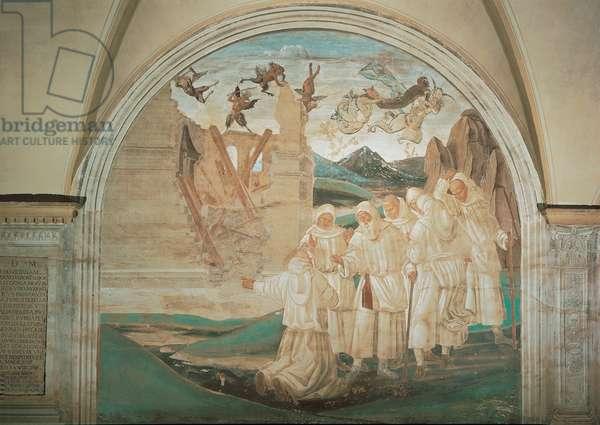 God Punishing Fiorenzo, 1497 - 1498 (fresco)