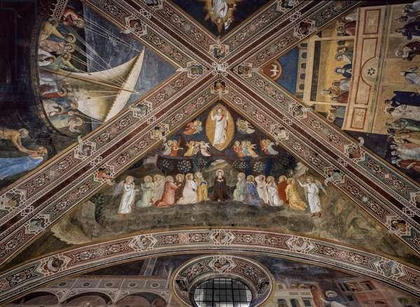 Ascension Rib Vault, 1365-1367 (fresco)