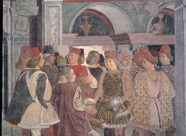 Allegory of April, 1469 - 1470 (fresco)