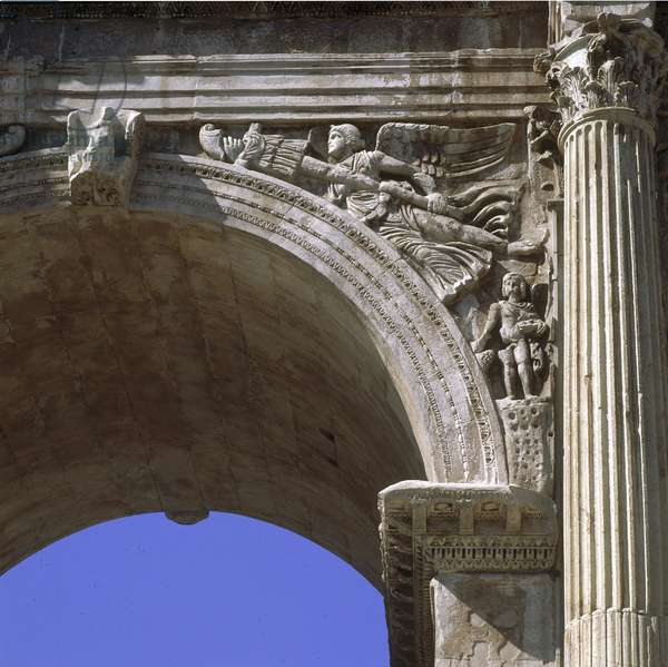 Arch of Constantine, 315 a.D., 4th Century a.D., marble.