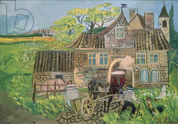 Dairy, 1960 (oil on canvas)