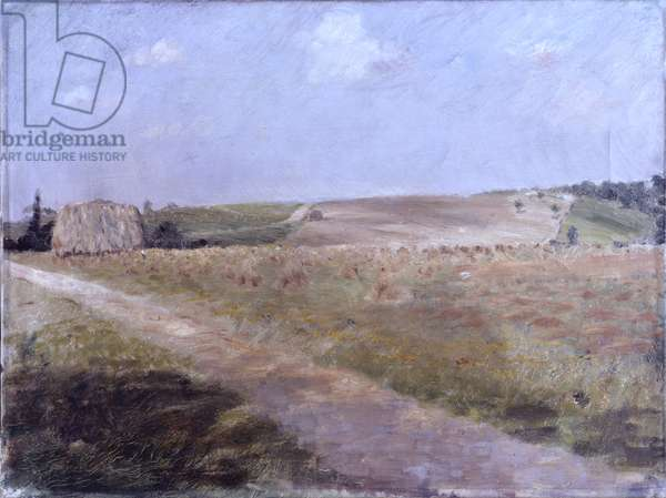Landscape (Paesaggio), by Giuseppe De Nittis, 19th Century