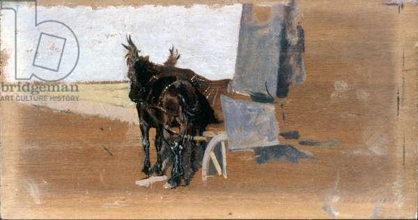 Horses (Cavalli), by Giuseppe De Nittis, 19th Century