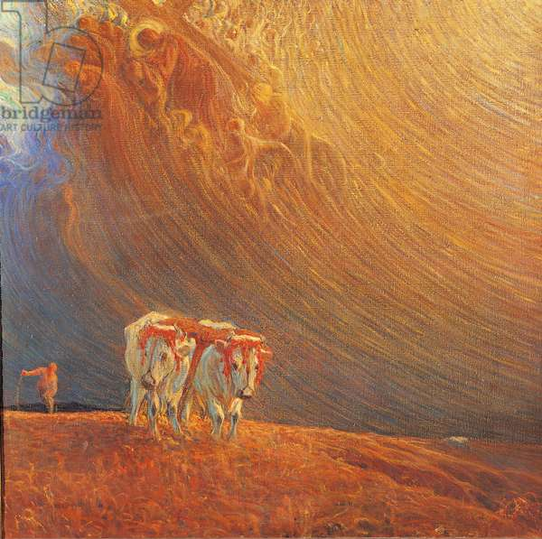 Yoke, 1907 (oil on canvas)
