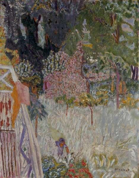 Apple Tree in Bloom, 1920 (oil on canvas)
