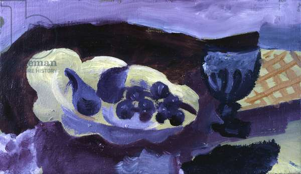 Still life, by Georges Braque, 20th Century, oil on canvas