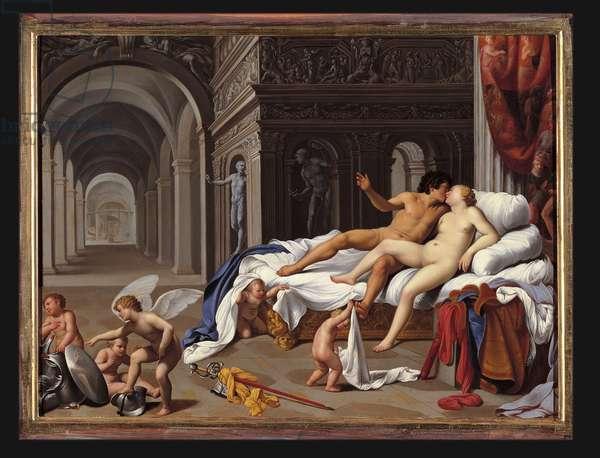 """""""Mars and Venus"""", 1600 (oil on canvas)"""