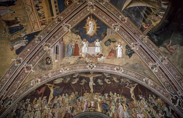 Rib Vault of Resurrection of Jesus, 1365-1367 (fresco)