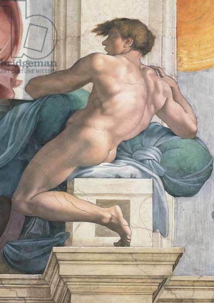 Sistine Chapel (Cappella Sistina), by Michelangelo Buonarroti, 16th Century, fresco (post restoration)