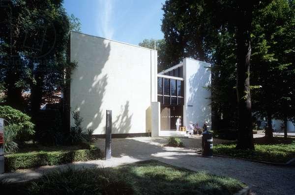 Dutch Pavillion at the Biennale designed by Thomas Rietveld Gerrit, Venice, Italy (photo)