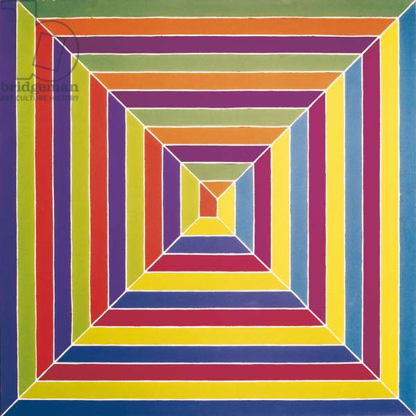The Gallant Indies (Les Indes galantes), by Frank Stella, 1966, 20th century, acrilic on canvas