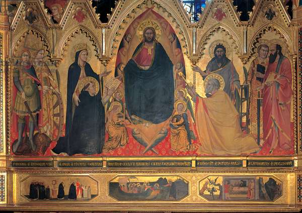 The Strozzi Altarpiece, 1357 (tempera and oil on panel)