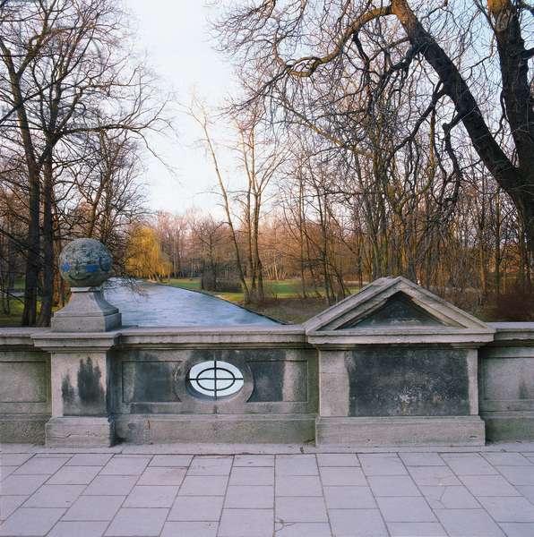 English Garden of Munich (Englischer Garten), by von Sckell Ludwig, 1807, 19th Century