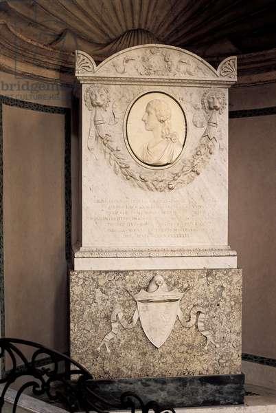 Tomb of Leonardo Pesaro, 1796 (marble)