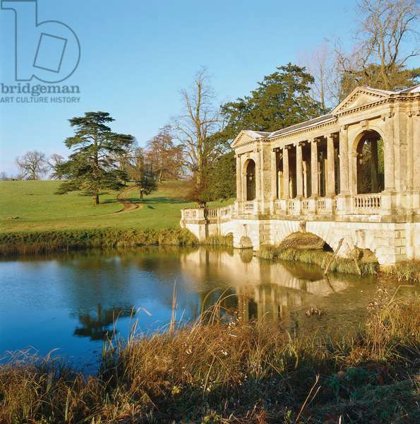 Stowe Landscape Gardens, by Brown Lancelot known as Capability Brown, Bridgeman Charles, Kent William, 18th Century