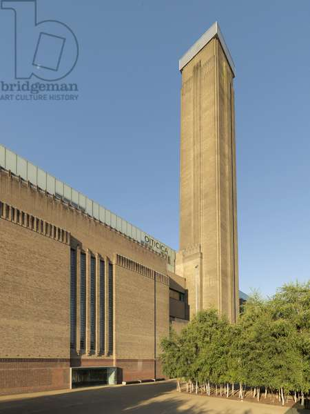 Tate Modern, 1995 - 2000 (steel and reinforced concrete)