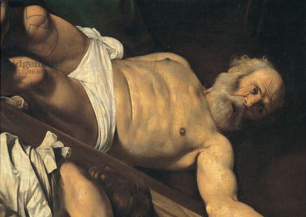 Martyrdom of St Peter, 1600 - 1601 (oil on canvas)