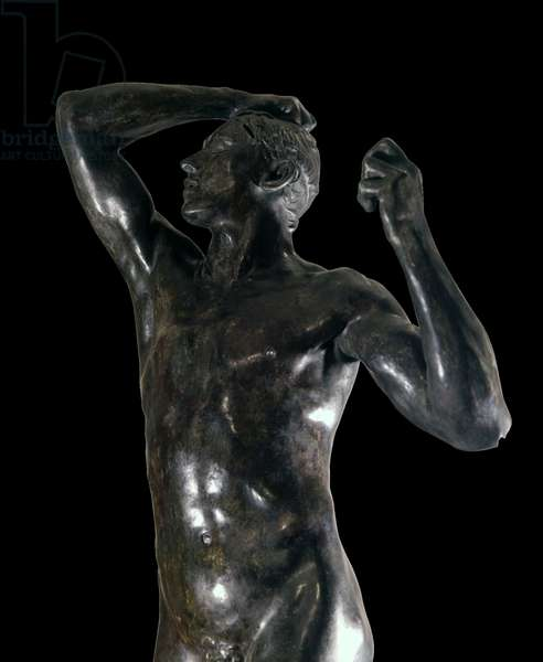 The bronze age (L'Âge d'Airain), by François-Auguste-René Rodin, 1877, 19th Century, bronze, 180,5 x 68,5 x 54,5 cm
