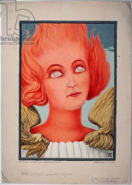 Dantesque Album (Album Dantesco), 1920-30 (gouache)