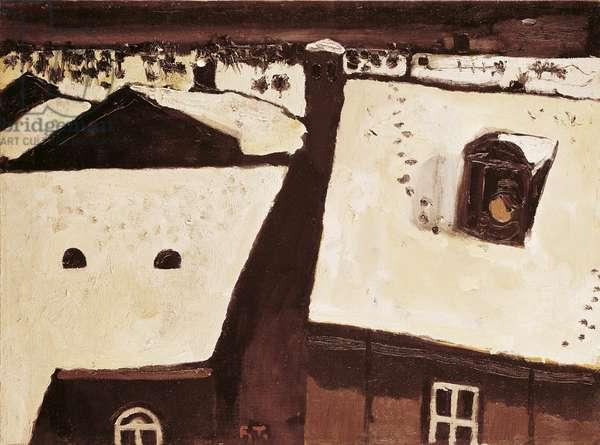 Study for Temptation, 1965 (oil on canvas)