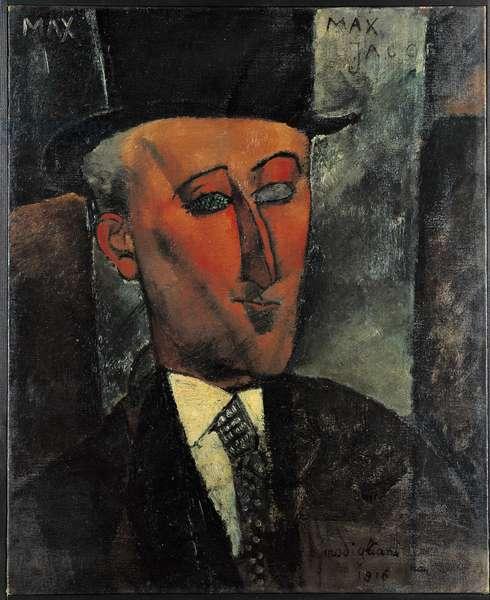 Portrait of the poet Max Jacob, 1916 (oil on canvas)