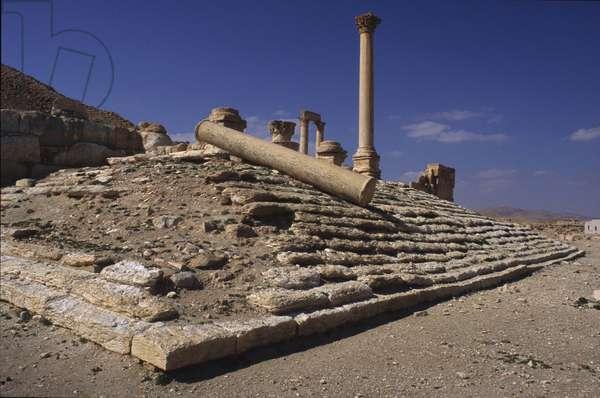 Principia, 2nd Century, marble and stone.