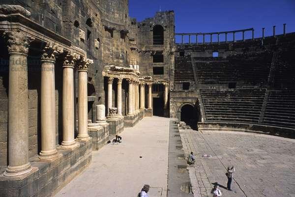 Roman Theater, 100 - 149, 2nd Century, black basalt
