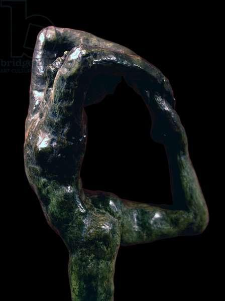 Dancing Movement A (Mouvement de danse A), by François-Auguste-René Rodin, 1911, 2oth Century, bronze, 71 x 22,5 x 33,5 cm