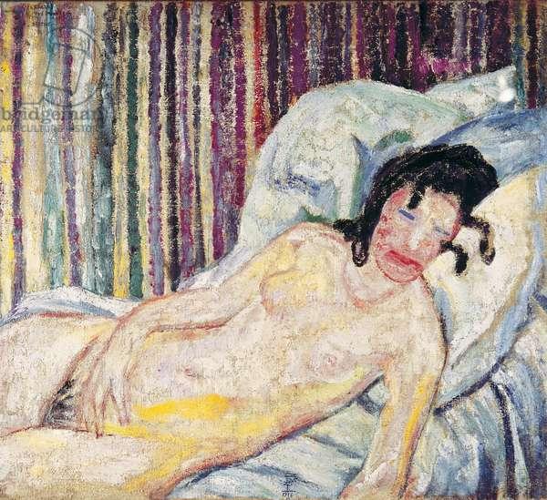 Berthe Reclining, 1916 (oil on canvas)