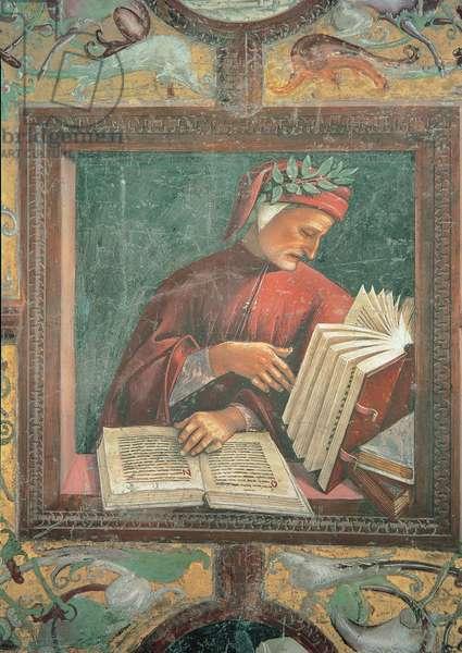 Dante Alighieri, 1499 - 1502 (fresco)
