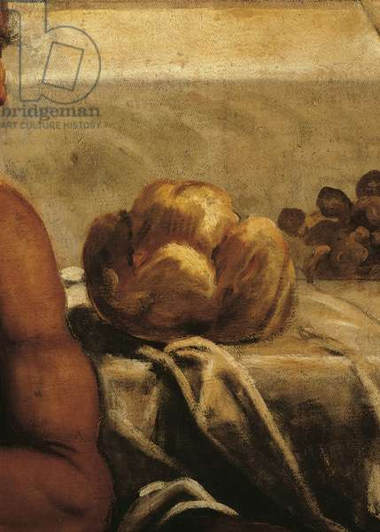 The Last Supper (L'Ultima Cena), by Jacopo Robusti known as Tintoretto, 1579, 16th Century, oil on canvas, 538 x 487 cm