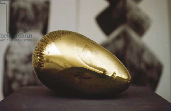 Sleeping Muse, 1910 (lacquered bronze)