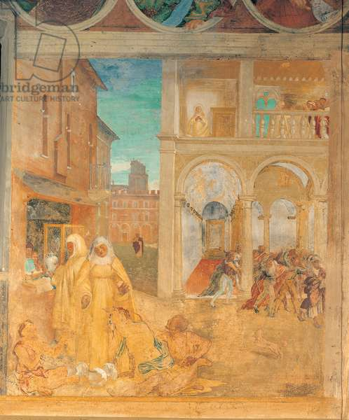Stories of St Bridget, 1524 (fresco)