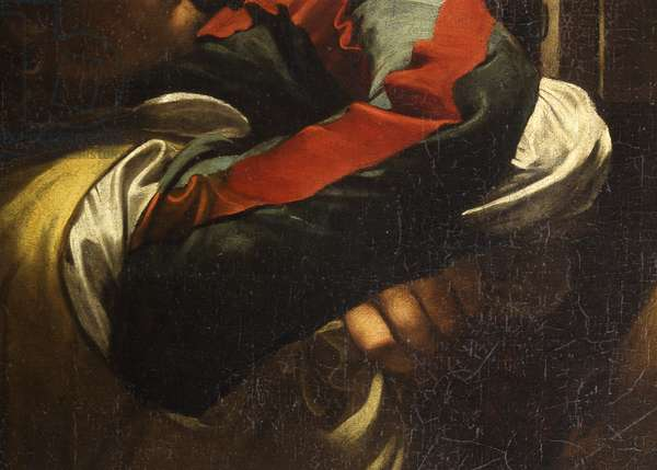 The Calling of Saint Matthew (Vocazione di san Matteo), by Michelangelo Merisi known as Caravaggio, 1599-1600, 16th-17th Century, oil on canvas, 322 x 340 cm