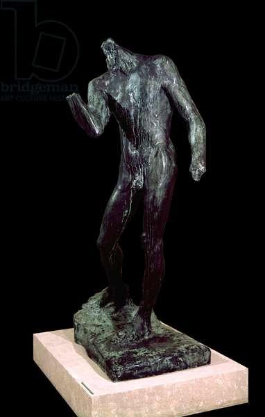 Study for Burgher Pierre de Wissant, by François-Auguste-René Rodin, 1886, 19th Century, bronze, 190 x 118 x 82 cm