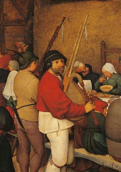 The Peasant Wedding, by Pieter Bruegel the Elder, 1567 - 1568, 16th Century, oil on wood, 114 x 164 cm