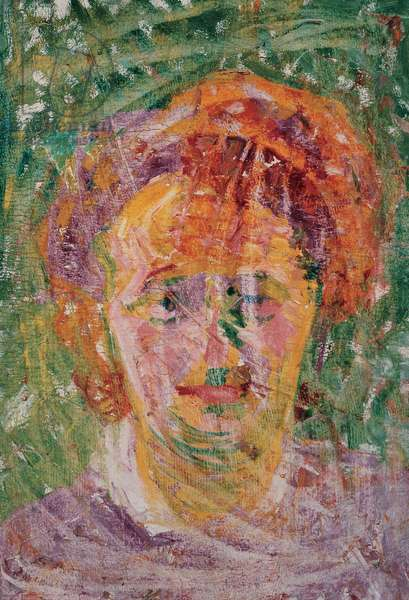 Portrait of a Woman, (oil on canvas)