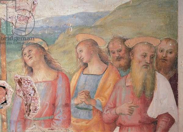 Deposition, 1517 (fresco)