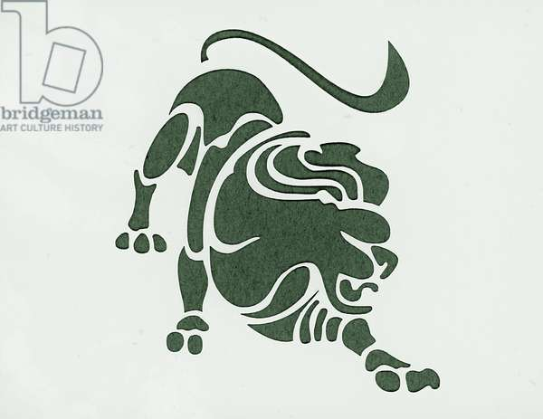 Astrological sign: leo Private collection
